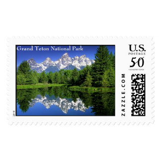 GrandTeton, Grand Teton National Park Postage