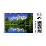 GrandTeton, Grand Teton National Park Postage Stamps