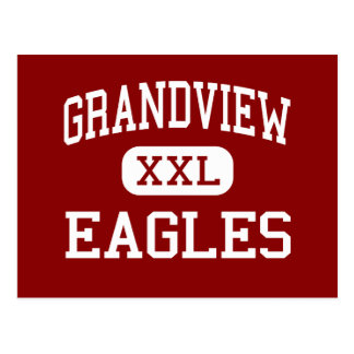 Grandview - Eagles - Middle - Hickory Postcard