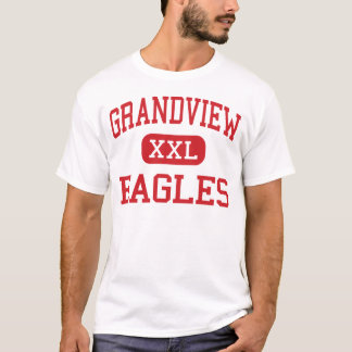 Grandview - Eagles - Middle - Hickory T-Shirt