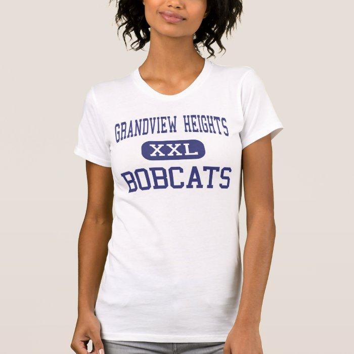 Grandview heights bobcats high columbus ohio t shirt for Columbus ohio t shirt printing