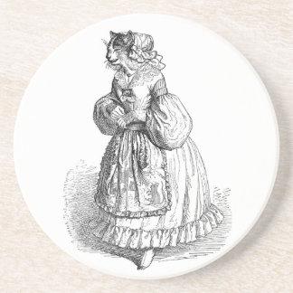 Grandville Anthropomorphic Cat Coaster