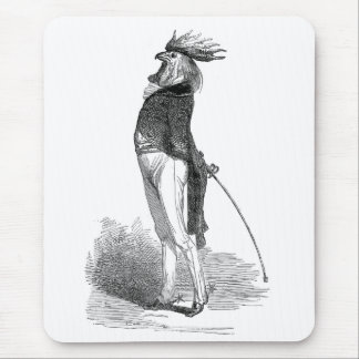 Grandville Anthropomorphic Rooster Mousepad