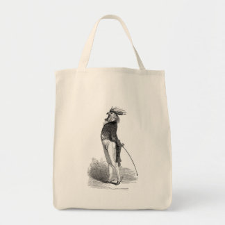 Grandville Anthropomorphic Rooster  Tote Bag