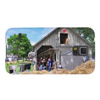 Granero 62 en el asilo del caballo - Saratoga Funda Para Galaxy S5