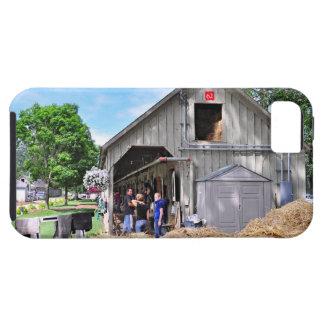 Granero #62 en el asilo del caballo - Saratoga Funda Para iPhone 5 Tough