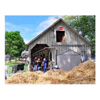 Granero #62 en el asilo del caballo - Saratoga Postal