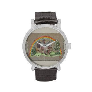 Granero de la arca de Noah Reloj De Mano