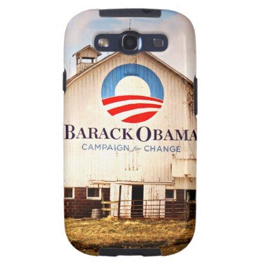 Granero de la campaña presidencial de Barack Obama Galaxy S3 Funda