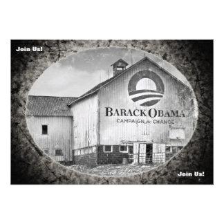 Granero de la campaña presidencial de Barack Obama