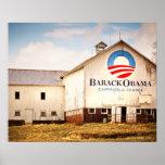 Granero de la campaña presidencial de Barack Obama Posters