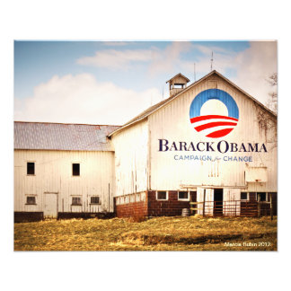 Granero de la campaña presidencial de Barack Obama Fotografia