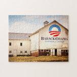 Granero de la campaña presidencial de Barack Obama Rompecabeza