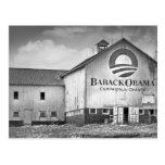 Granero de la campaña presidencial de Barack Obama Tarjetas Postales