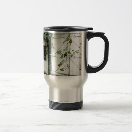 Granero de la hiedra taza de café