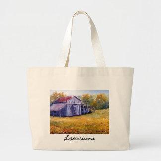 Granero de Luisiana de la bella arte de la pintura Bolsa Tela Grande