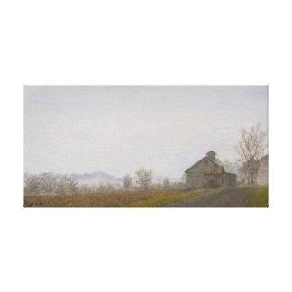 Granero de Vermont Lona Estirada Galerias