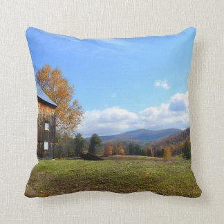 Granero de Vermont y almohada de la visión