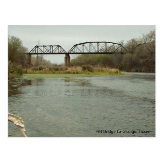 Granero del La del puente del RR, Tejas Tarjetas Postales