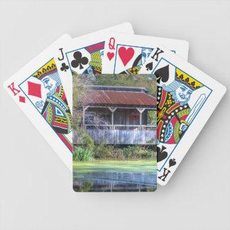 Granero del pantano barajas de cartas