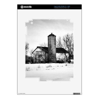 Granero del refugio del invierno iPad 2 skin