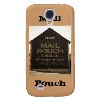 Granero del tabaco de la bolsa de correo del Chew  Funda Para Galaxy S4