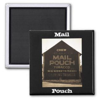 Granero del tabaco de la bolsa de correo del Chew  Imán De Frigorífico
