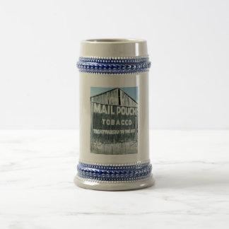 Granero del tabaco de la bolsa de correo del Chew Jarra De Cerveza