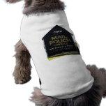 Granero del tabaco de la bolsa de correo del Chew  Camisetas De Perrito