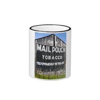 Granero del tabaco de la bolsa de correo del Chew Taza De Dos Colores
