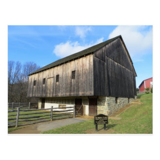 Granero en el museo de la granja del condado de Ca Postal