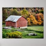 Granero en el otoño - PA Posters
