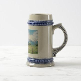 Granero mormón jarra de cerveza