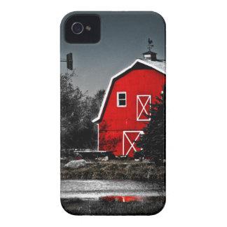 Granero rojo espectacular Case-Mate iPhone 4 funda