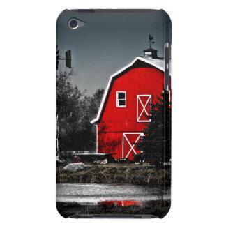 Granero rojo espectacular Case-Mate iPod touch protector