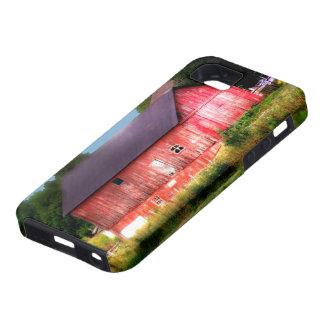 Granero rojo intrépido grande funda para iPhone SE/5/5s