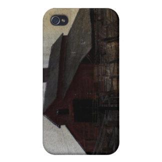 Granero rojo iPhone 4 cobertura