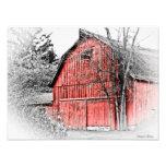 Granero rojo magnífico foto