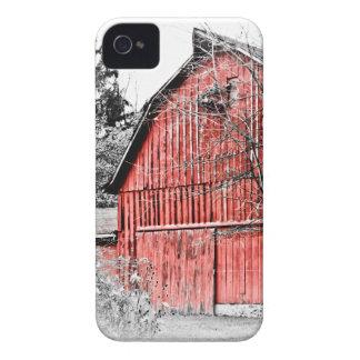 Granero rojo magnífico Case-Mate iPhone 4 coberturas
