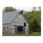 Granero rústico Vermont Postal