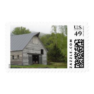 Granero rústico Vermont Sellos Postales