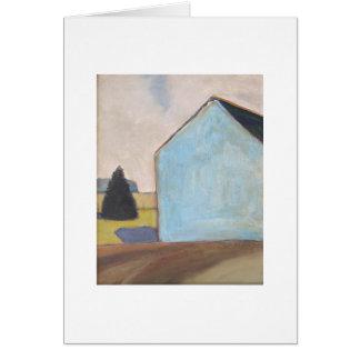 Granero-Tarjeta azul