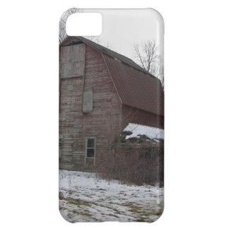 Granero viejo de madera de Michigan Carcasa Para iPhone 5C