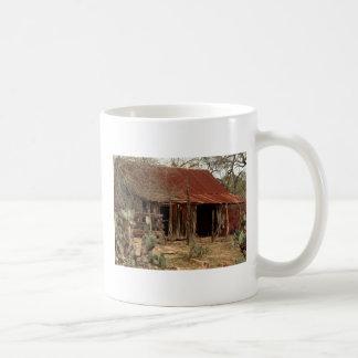 granero viejo taza básica blanca