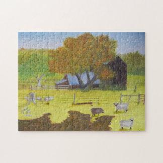 Granero y ovejas de Waterford Rompecabeza