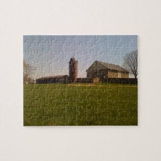Granero y silo puzzle
