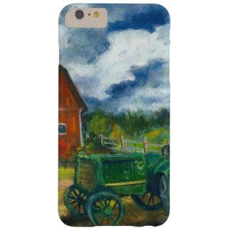 Granero y tractor viejo funda barely there iPhone 6 plus