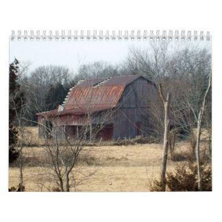 Graneros de Missouri Calendarios De Pared