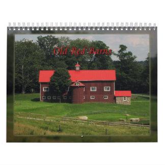 Graneros del rojo de Olde Calendario