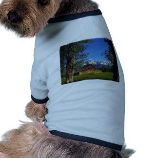 Graneros mormones Tetons magnífico de la fila Camisas De Mascota